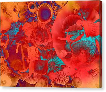 Shapes Sizes Colors Canvas Print by Dan Sproul