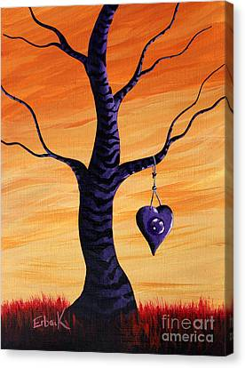 Sharing My Imagination By Shawna Erback Canvas Print by Shawna Erback