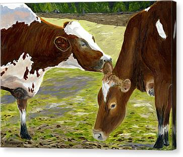 Sharing Secrets Canvas Print