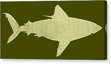 Fish Canvas Print - Shark by Michelle Calkins
