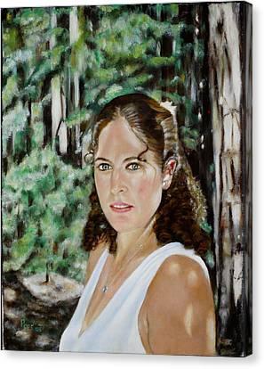 Sharon Valterria Canvas Print