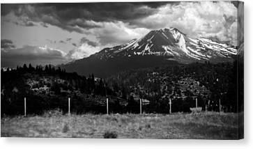 Canvas Print featuring the photograph Shasta Drama by Chris McKenna