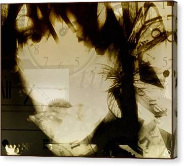 Shattered Life-wasted Time Canvas Print by Gun Legler