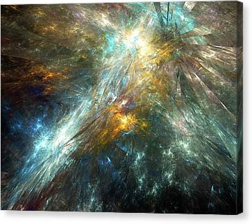 General Concept Canvas Print - Shattered Space-time by Equinox Graphics