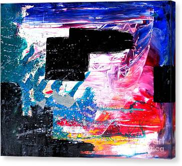 Shattering Censorship Canvas Print by Keith Conerly