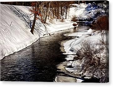Shawsheen River Canvas Print