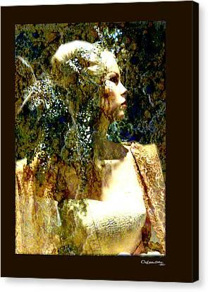 Canvas Print - She 2 by Xoanxo Cespon