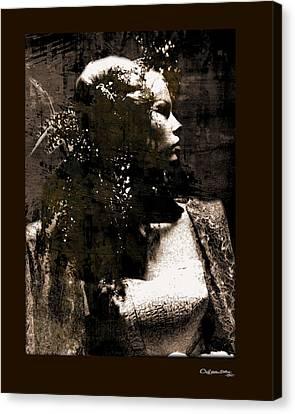 Canvas Print - She 3 by Xoanxo Cespon