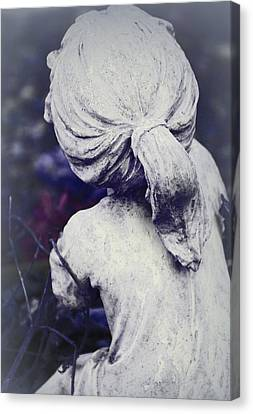 She Dreams Of Angels... Canvas Print by The Art Of Marilyn Ridoutt-Greene