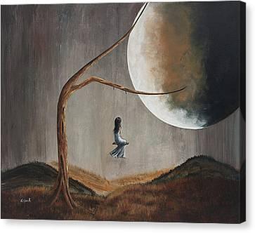 She Feels Memories By Shawna Erback Canvas Print