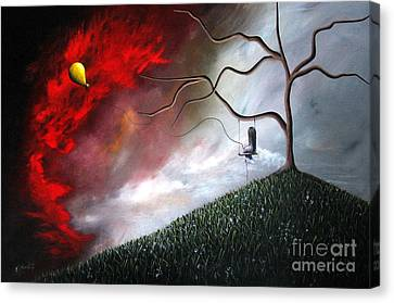 She Feels Your Memories By Shawna Erback Canvas Print by Shawna Erback