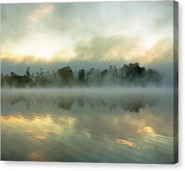 Canvas Print featuring the photograph She Rises by Tom Cameron