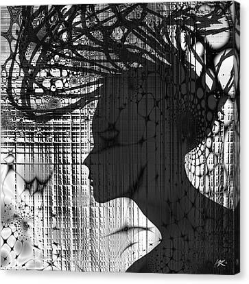 She Rocks Canvas Print