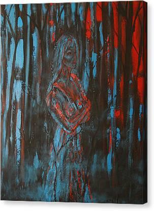 Kathleen Canvas Print - She Walks In Beauty by Kathy Peltomaa Lewis