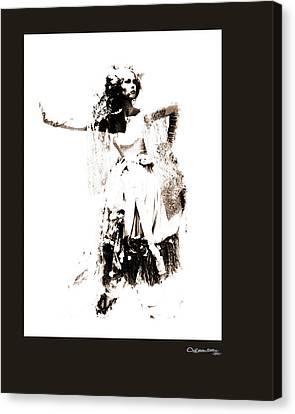 Canvas Print - She by Xoanxo Cespon