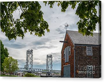 Sheafe Warehouse Canvas Print by Scott Thorp