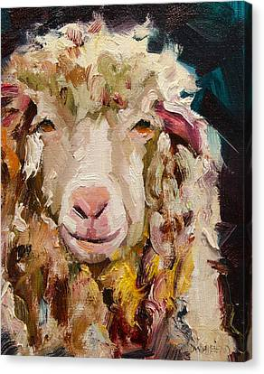 Sheep Alert Canvas Print
