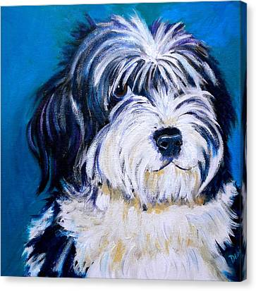 Sheepish Canvas Print by Debi Starr