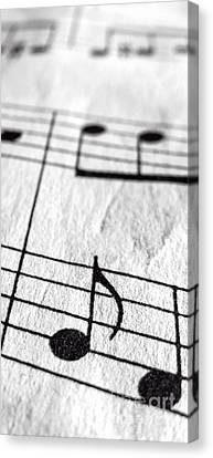 Sheet Music Phone Case Canvas Print