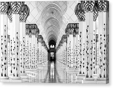 Sheik Zayed Mosque Canvas Print