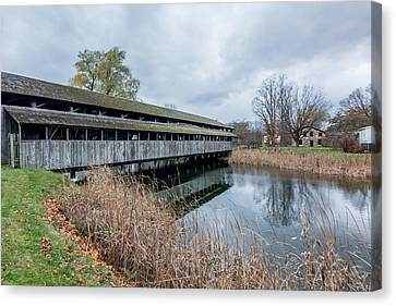 Shelburne Covered Bridge Canvas Print