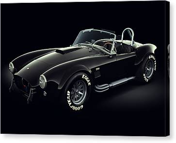 Shelby Cobra 427 - Ghost Canvas Print