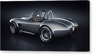 Shelby Cobra 427 - Venom Canvas Print by Marc Orphanos