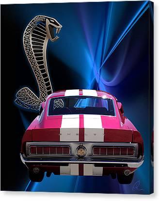 Shelby Cobra Gt-500 Canvas Print