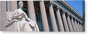Shelby County Courthouse Memphis Tn Canvas Print