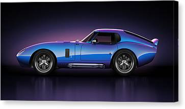 Shelby Daytona - Velocity Canvas Print