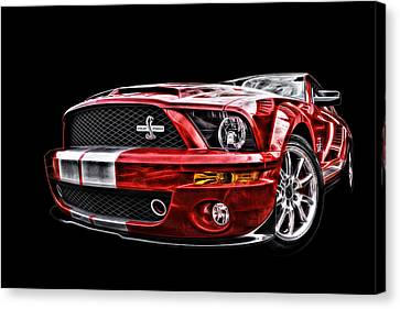Shelby On Fire Canvas Print
