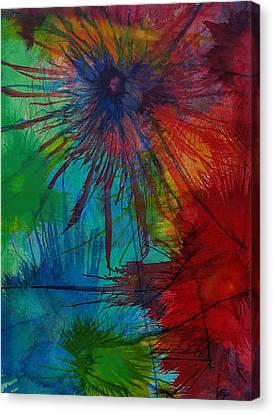 Shelbys  Flowers Canvas Print