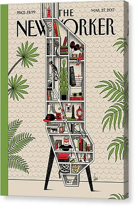 Shelf Canvas Print - Shelf Life by Luci Gutierrez