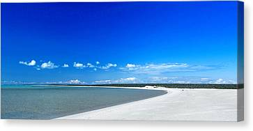 Canvas Print featuring the photograph Shell Beach by Yew Kwang