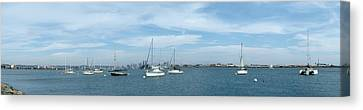 Shelter Island Panorama Canvas Print