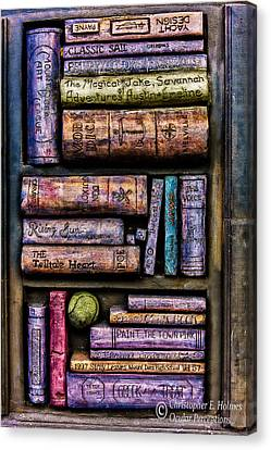 Shelved - 14 Canvas Print