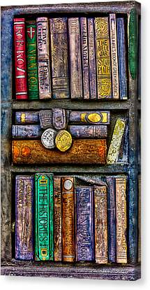 Shelved - 2 Canvas Print