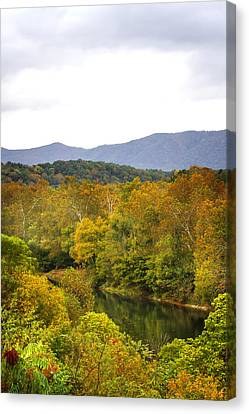 Shenandoah River Run Canvas Print