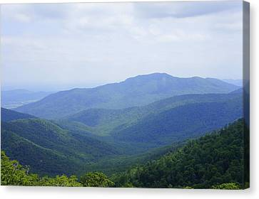 Shenandoah View Canvas Print