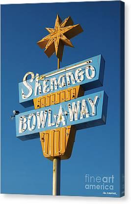 Shenango Bowl-a-way Canvas Print by Jim Zahniser