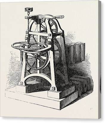 Shepherds Electric Clock For The Crystal Palace Mechanism Canvas Print
