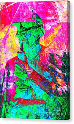 Sherlock Holmes 20140128p128 Canvas Print by Wingsdomain Art and Photography