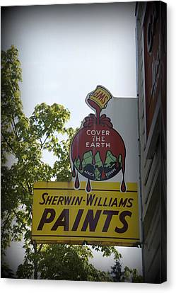 Sherwin Williams Canvas Print