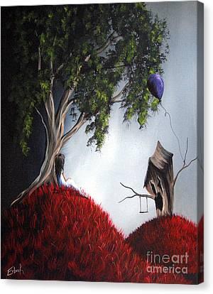 She's Just An Illusion By Shawna Erback Canvas Print by Shawna Erback