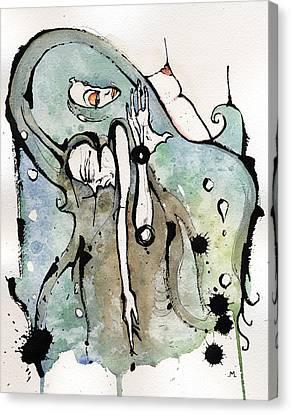 ...shes So Heavy Canvas Print by Mark M  Mellon