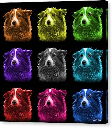 Shetland Sheepdog Dog Art 9973 - Bb - M Canvas Print