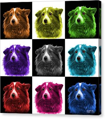 Shetland Sheepdog Dog Art 9973 - V1 - M Canvas Print