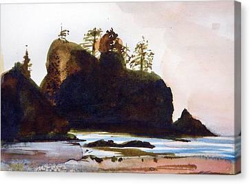 Shi-shi Beach Canvas Print