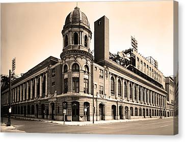 Shibe Park  Canvas Print by Bill Cannon
