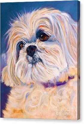 Shih Tzu Rescue Canvas Print